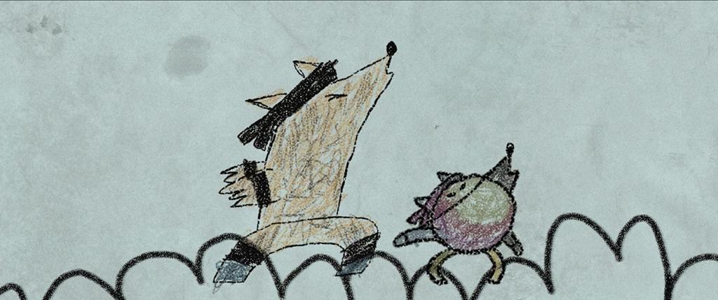 Los lobos Samuel Kishi dibujo